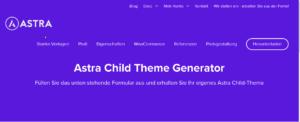 Astra-Child-Thme